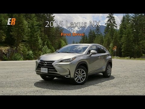 2015 Lexus NX F Sport World Launch Test Drive Review