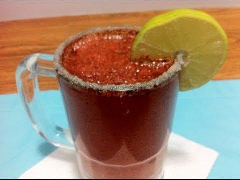 Bebidas : Como Preparar una Michelada ( How to prepare a Michelada)
