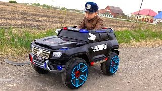 Download Song POLICE BABY Pretend Play with Police Cars Unboxing and Playing with TOYS Free StafaMp3