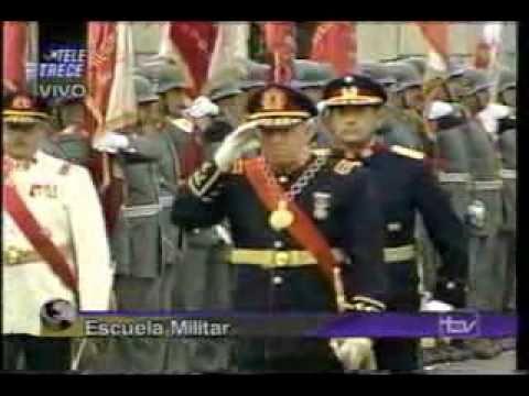 Cambio de Mando General Pinochet Comandante en Jefe del Ejercito (1)