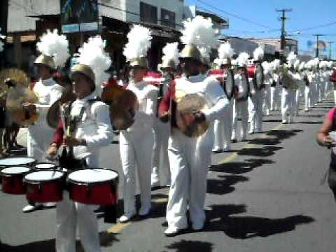 Drum & Brass Corp´s Castro Alves -  Desfile de Mangabeira 2010 ( Thiller )