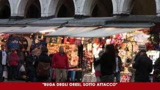 Venezia. Ruga degli Oresi in rivolta