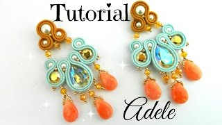 Tutorial: Adele Orecchini Soutache