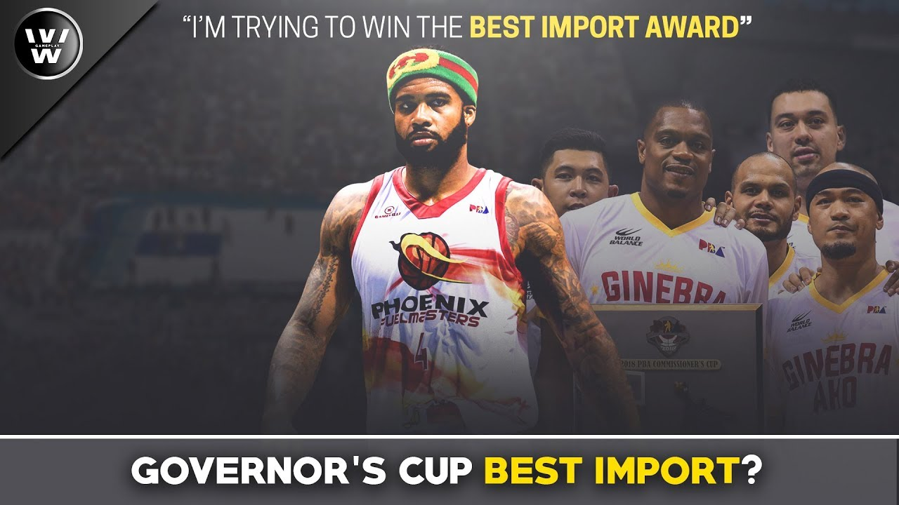 Kaya ba ni Phelps Talunin si Brownlee? | PBA Best Import of the Conference