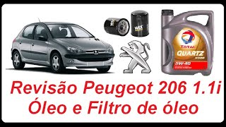 How to change oil - Peugeot 206