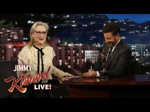 Meryl Streep Fails Oscar Quiz About Herself | jimmy