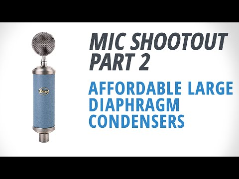 Mic Shootout 2: Affordable Large Diaphragm Condensers