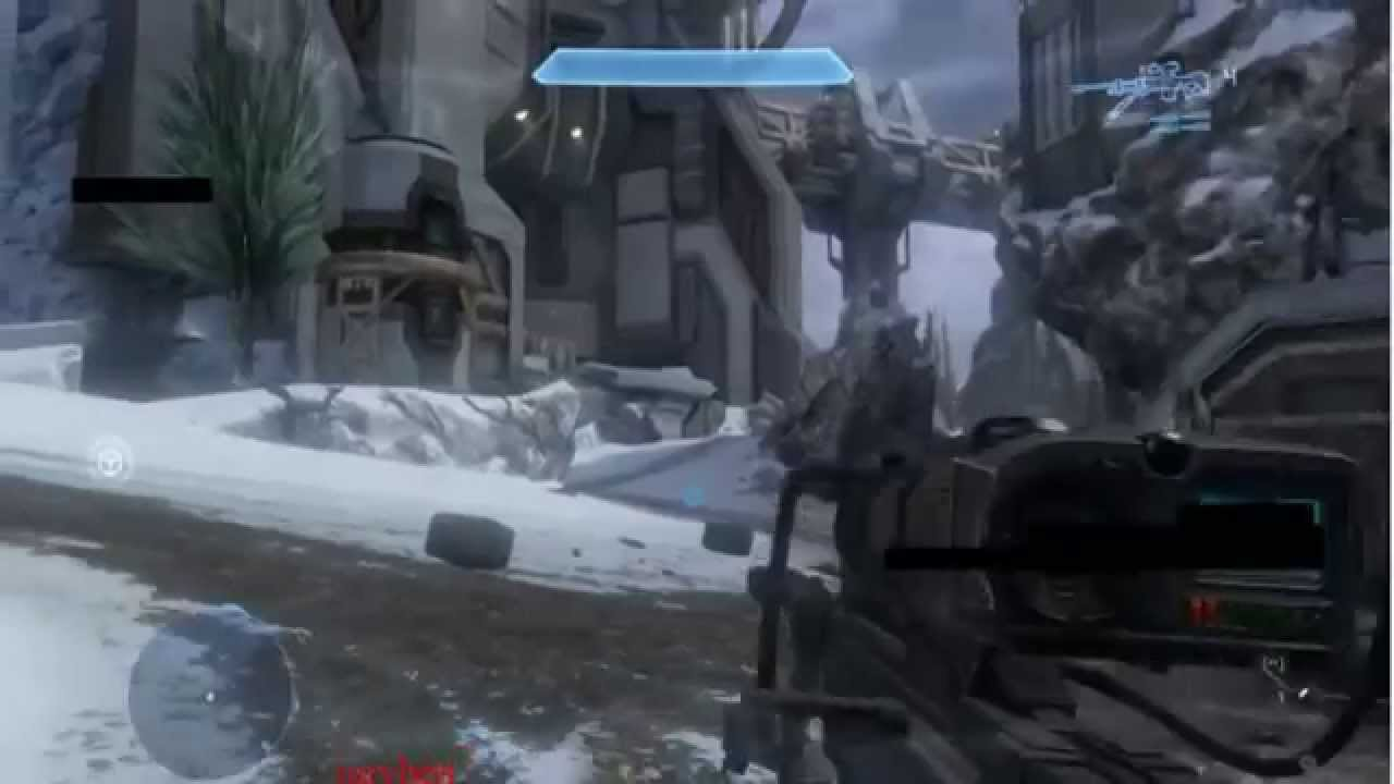 Spartan Laser Firing Halo 4 Leaked Spartan Laser
