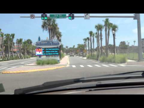 DASH CAM  JACKSONVILLE BEACH AND NEPTUNE BCH FLORIDA SPONSOR ASAP ROOF INSPECTIONS 904-346-1266