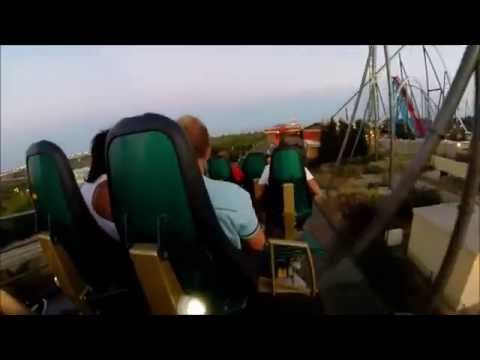 SHAMBHALA [ On-ride POV] , Port Aventura, septembre 2014  jour et nuit