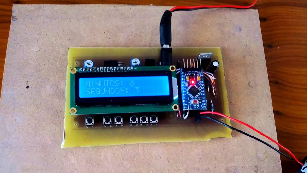 Hacer un temporizador de Arduino - askixcom