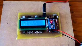 Temporizador insoladora PCB LED-UV Arduino