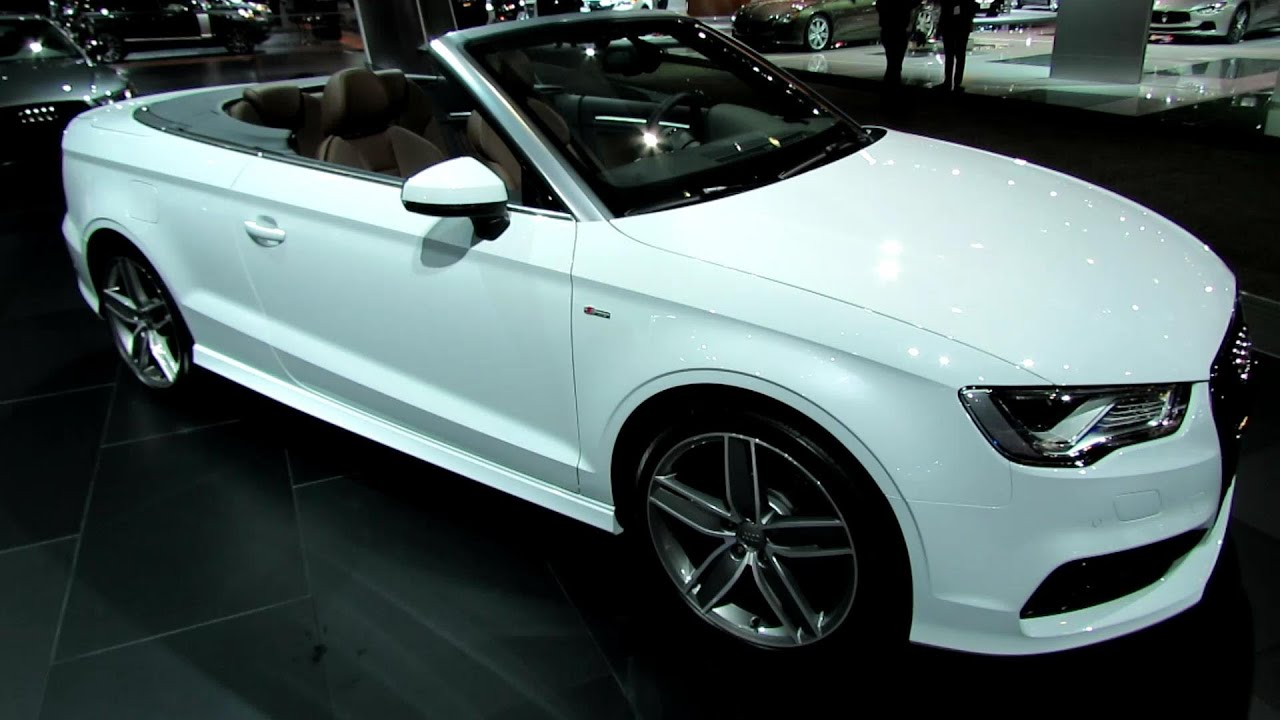2015 audi a3 convertible s line exterior and interior. Black Bedroom Furniture Sets. Home Design Ideas