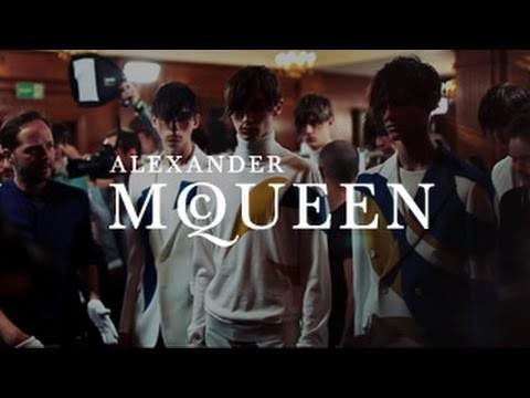 Alexander McQueen | Men's Spring/Summer 2015 | Backstage Film