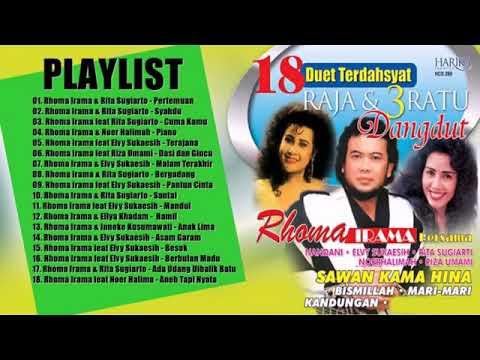 """Lagu Dangdut Lawas """"duet Romantis Rhoma Irama"""" Full Album Mp3"""