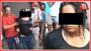 Drunk Girl Creates Nuisance In Hoshiarpur