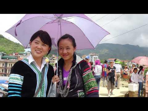 Travel - 2013 trip to Sapa, Vietnam P9. Rov mus saib Hmoob Sapa. (HD)
