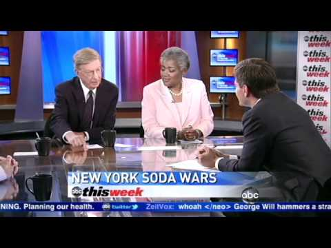New York Soda Ban: Michael Bloomberg's Proposed Large Soda Ban Slammed by George Will