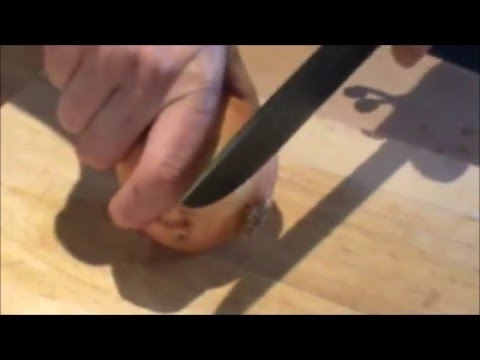 ESEE 6 SURVIVAL KNIFE CUTTING DEMO AND OVERVIEW