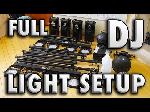 My Full Mobile Dj Light Setup! | DJTIMOTHY