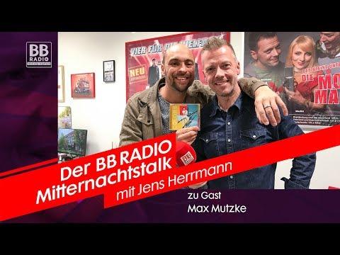 Max Mutzke im BB RADIO Mitternachtstalk mit Jens Herrmann 2019