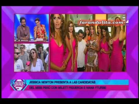 Amor Amor Amor: Miss Peru Universo 2016 Conoce A Las Candidatas 2 - 2 [09-03-2016]