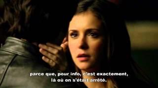 Vampire Diaries 6x12 Delena Kiss VOSTFR