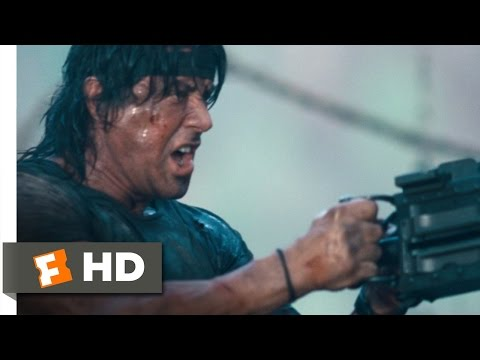 Rambo (11 12) Movie Clip - Mopping Up (2008) Hd video