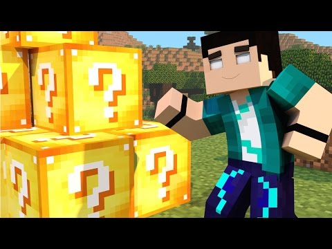 Minecraft Mod - LUCKY BLOCK NOVO 1.8 - NEW Lucky Block Mod Showcase