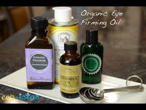DIY Organic Eye Firming Oil