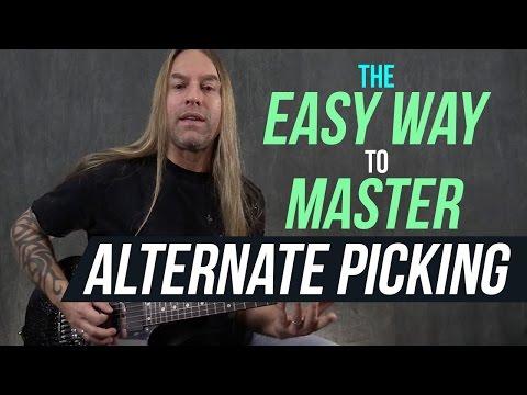 Lesson Guitar - Alternate Picking Exercises