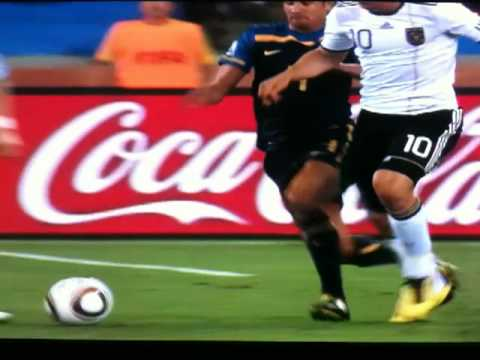 Tim Cahill Red Card vs Germany World Cup 2010