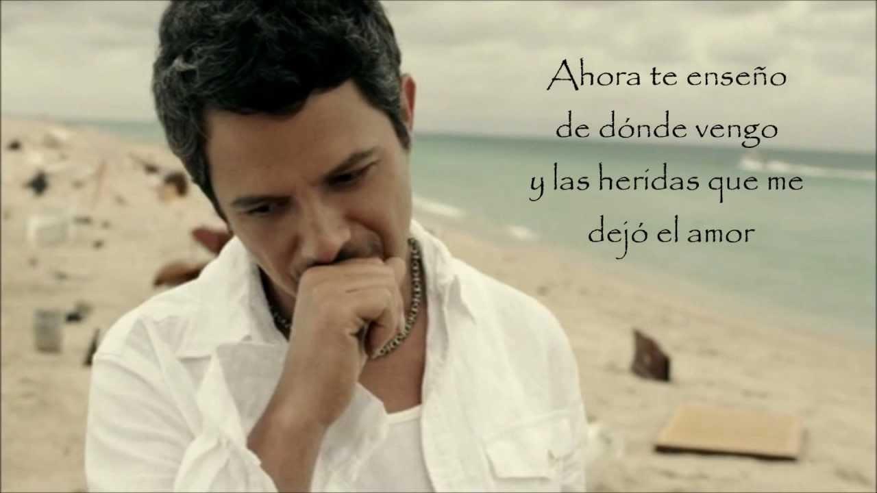 videos de alejandro sanz: