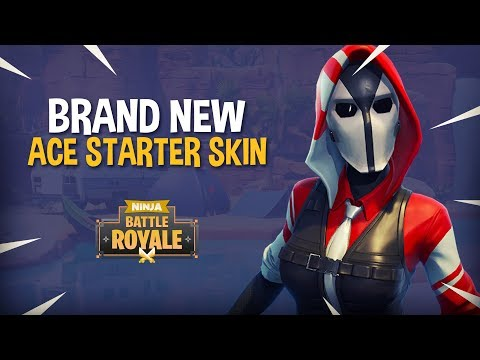Ninja Spotlight Brand New Ace Starter Skin Fortnite Battle