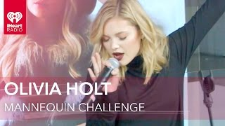 Olivia Holt Live Mannequin Challenge with iHeartRadio