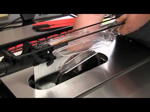 SawStop Professional Cabinet Saw Review - Part 1