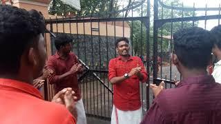 Sfi song st.marys collage manarkadu election 2017/2018