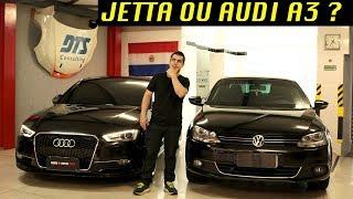 Jetta TSI ou Audi A3/ QUAL A MELHOR ESCOLHA?