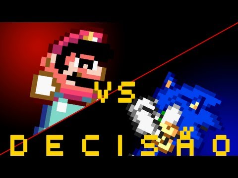 Batalha de bits - Deciso Mario Vs Sonic