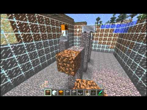Fully Automated Mining from Top to Bedrock - No Mods! - Minecraft [1.2.5]