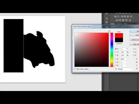 Adobe Photoshop Tutorial: How To Create Custom Shape (Malay version)