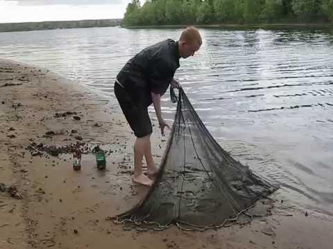 ютуб рыбалка кастинговой сетью в россии видео
