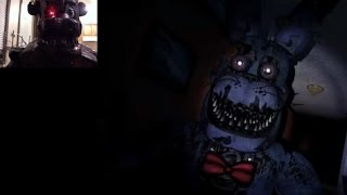 Nightmare Freddy reacts to FNAF4 trailer
