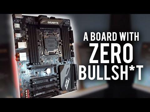 NO FRILLS X299 board & more! Gigabyte @ Computex 2017