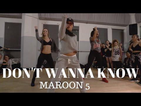 Don't Wanna Know Class Video by @maroon5 & @KendrickLamar | @DanaAlexaNY Choreography