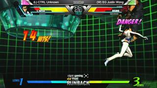 UMvC3 CTRL Unknown vs EG Justin Wong - The RunBack Pre SCR 2014 Grand Finals