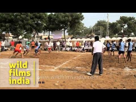Men Participate In Kabaddi Match : Pushkar Mela, Rajasthan video