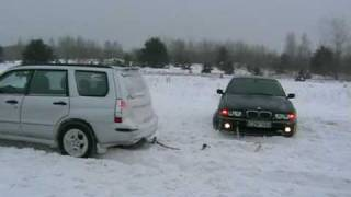 Subaru Forester help to BMW
