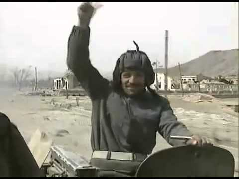 Kabul City in the hand of Ahmad Shah Masood in 1992