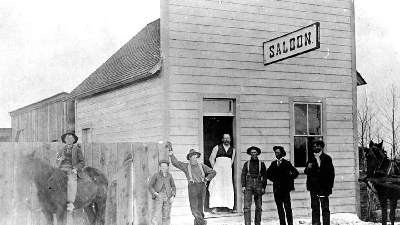 wild west saloon wallpaper
